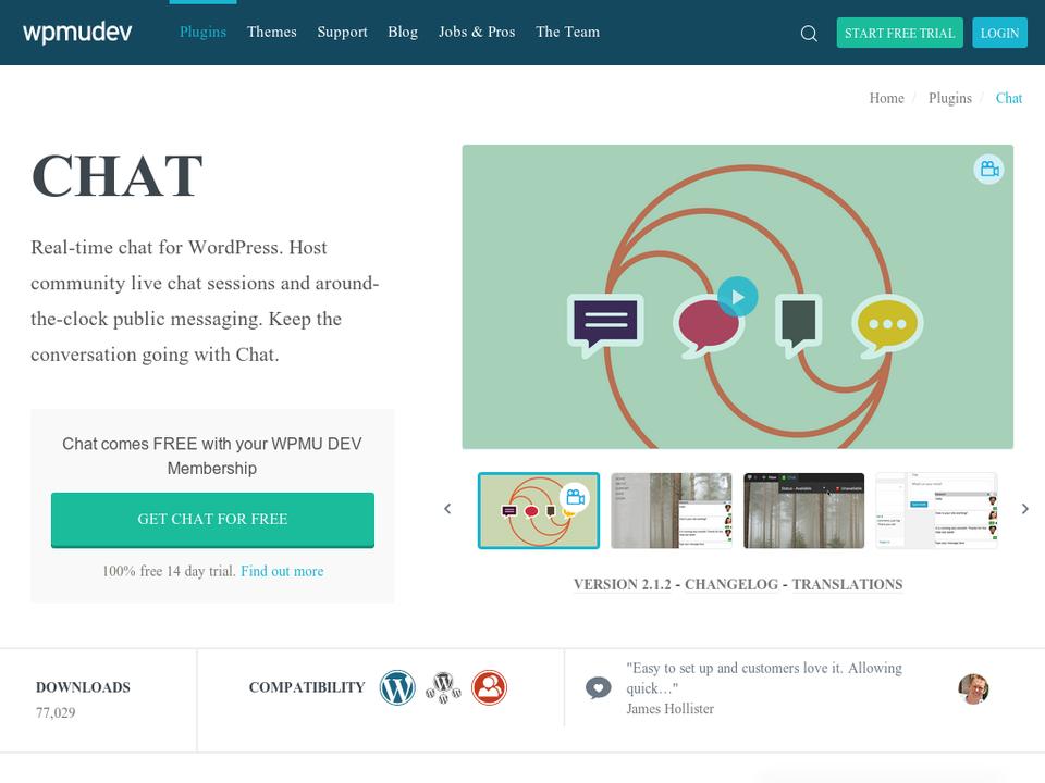 WordPress Chat